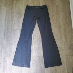 lululemon athletica Pants - Lululemon Gray Flare Leg Yoga Pants